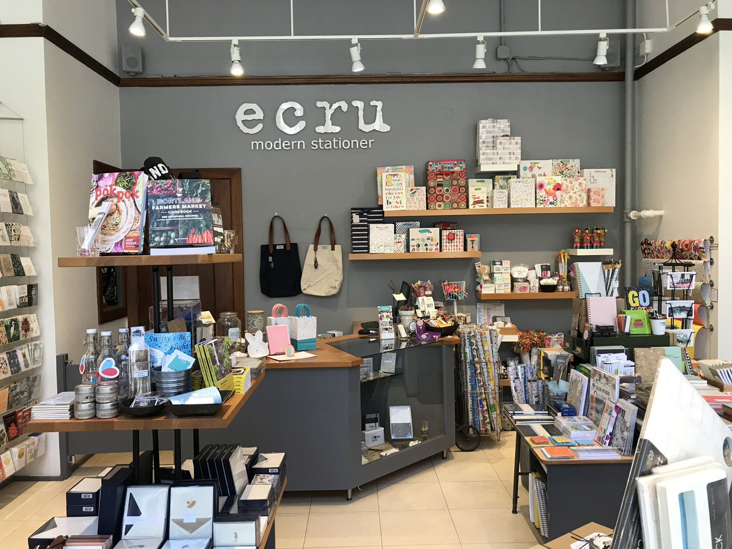 Ecru Modern Stationer A Store For Stationary Cards Gifts And Paper